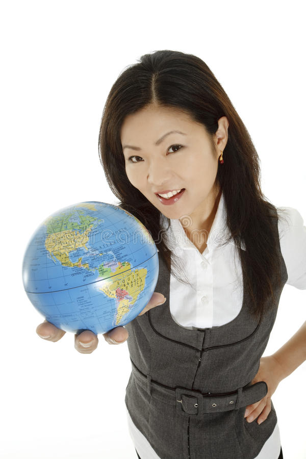 Japanese Woman royalty free stock image