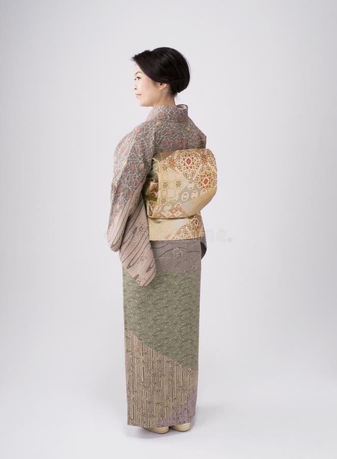 Download Japanese Woman Wearing Kimono Stock Image - Image: 24228847