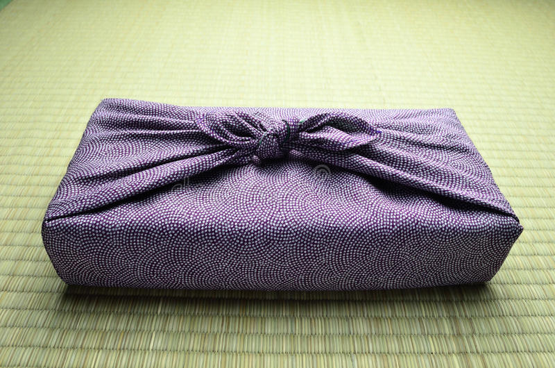 Download Japanese wrapping cloth stock image. Image of pink, japan - 26930419
