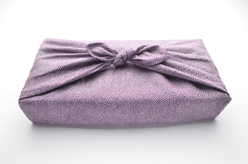 Japanese Wrapping Cloth Royalty Free Stock Image