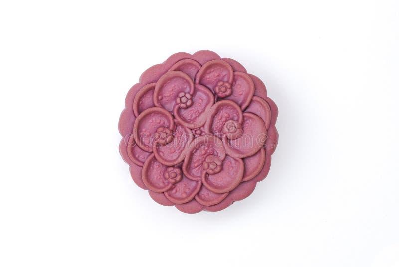 japanese yam moon cake stock photo