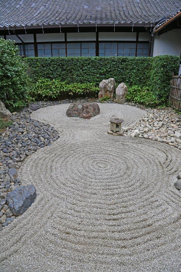 Japanese Zen garden stock photos