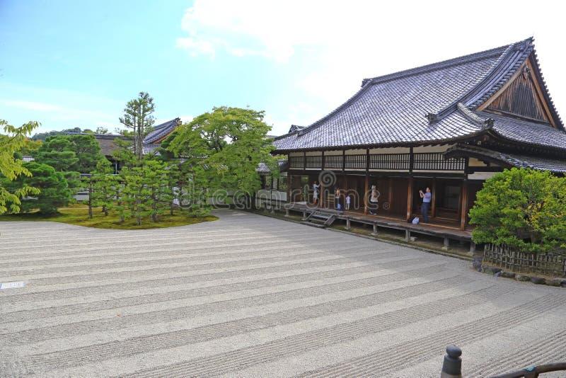Japanese Zen garden royalty free stock images
