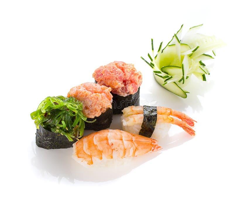 Japanesse kokkonst Sushi arkivfoton