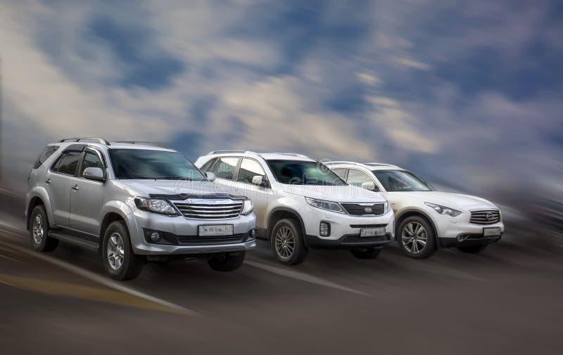 Japanische Autos stockfoto