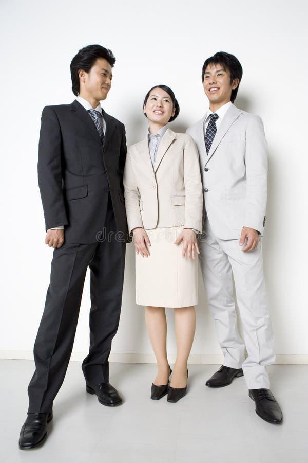 Japanische Büroangestellte stockbilder