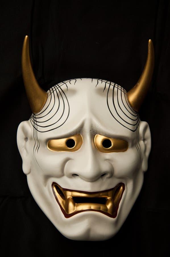 Japanische Dämonmaske stockfoto