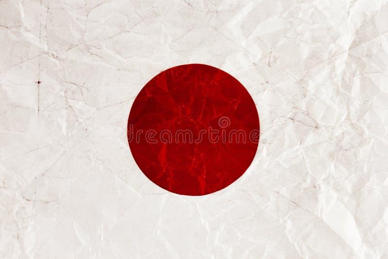 Japanische Flagge stockbilder