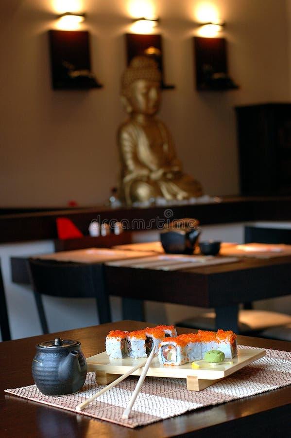 Japanische Gaststätte lizenzfreie stockbilder