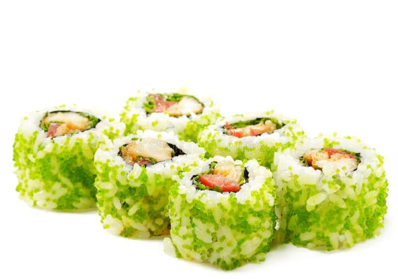 Japanische Küche - Sushi lizenzfreie stockbilder
