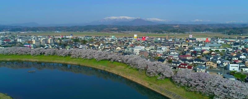 Japanische Landschaft stockfoto
