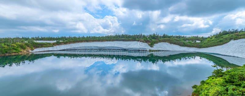 Japanische Landschaft lizenzfreies stockfoto