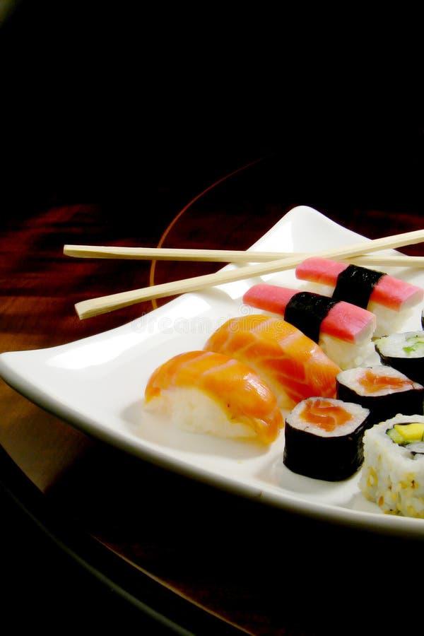 Japanische Mahlzeit stockbild