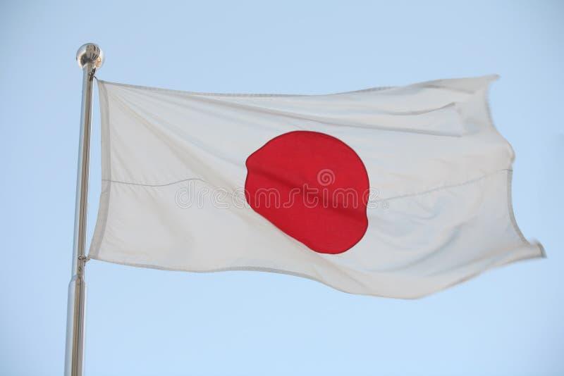 Japanische Markierungsfahne stockfotos