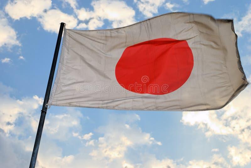 Japanische Markierungsfahne stockfotografie