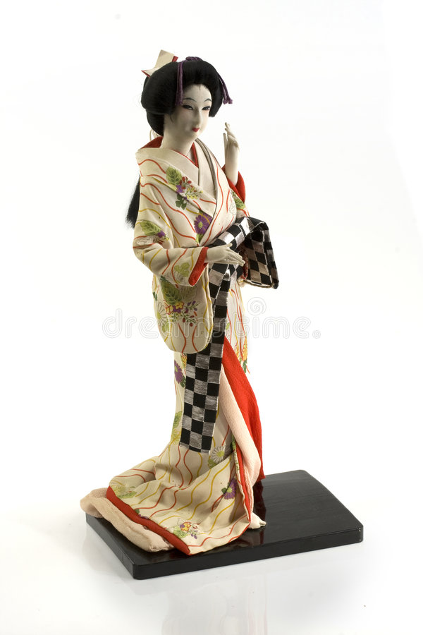 Japanische Puppen lizenzfreies stockfoto