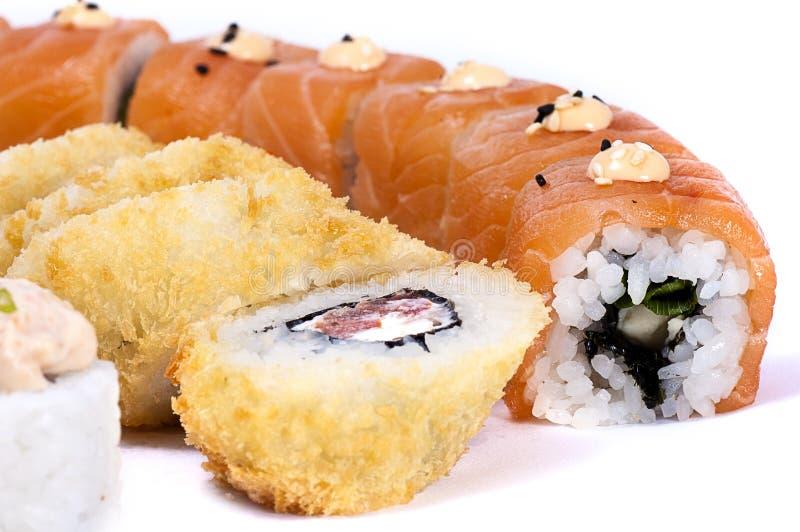 Japanische Sushi lizenzfreie stockfotos