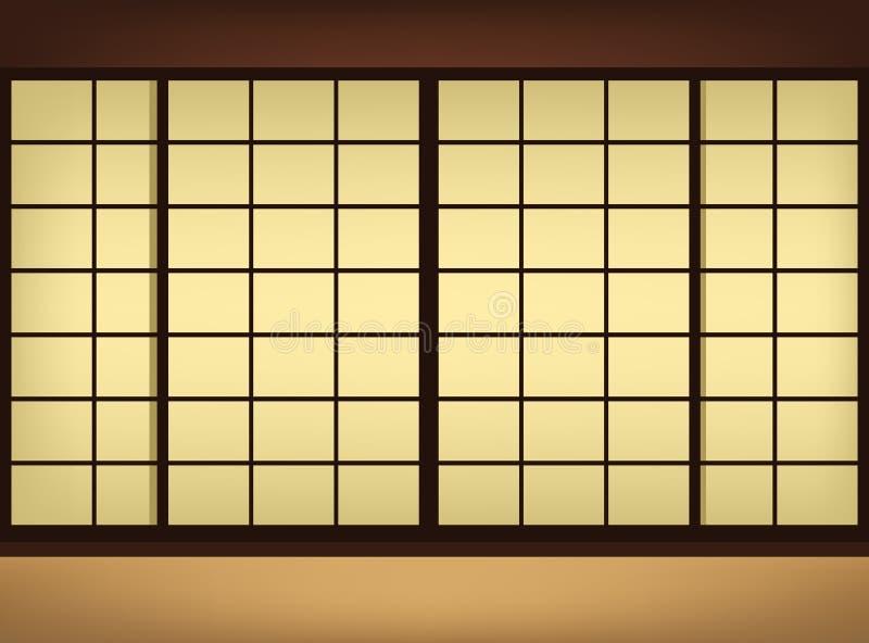 Japanische tapete vektor abbildung illustration von - Tapete asiatisch ...
