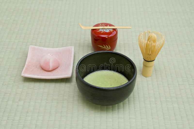 Japanische Teekultur lizenzfreie stockbilder