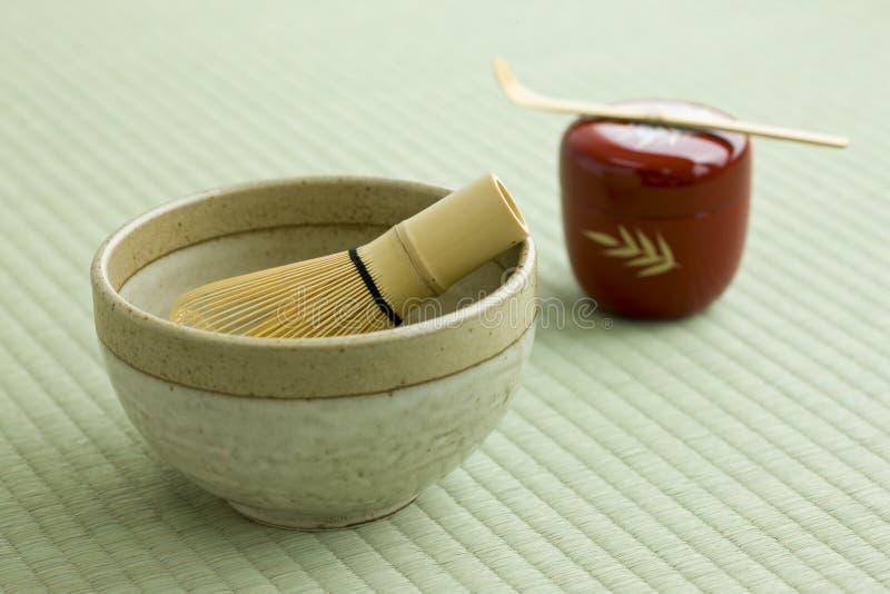 Japanische Teekultur stockbild