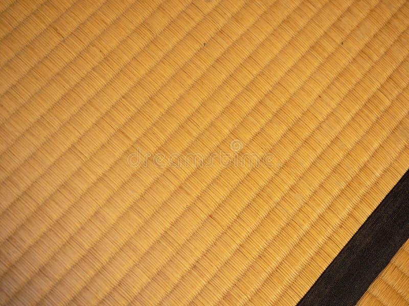 Japanische traditioanl Raum-Bodenmatte lizenzfreie stockfotos