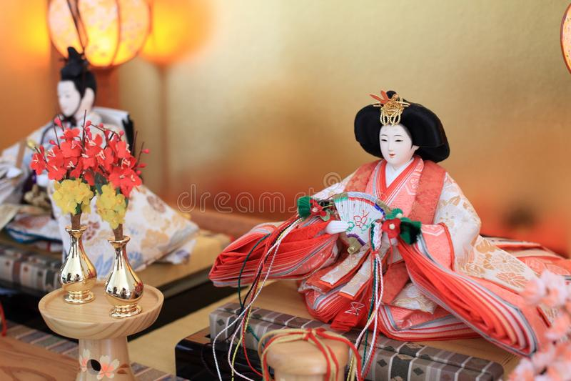 Japanische traditionelle puppe mann stockbild bild von for Traditionelle japanische architektur