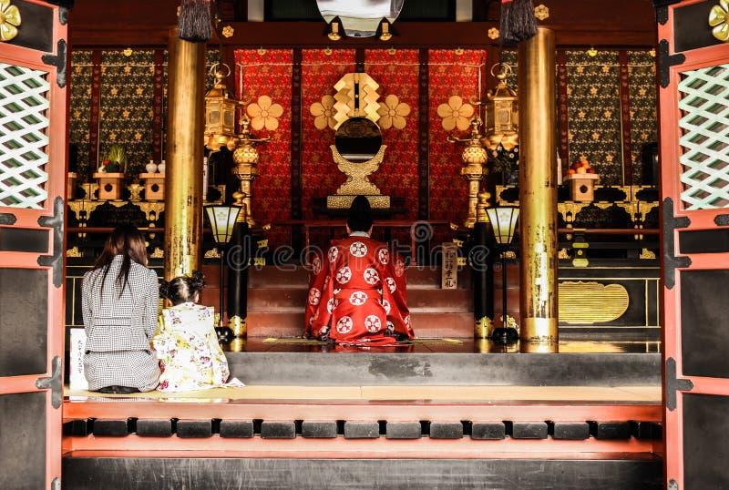 Japanische Zeremonie stockfotografie