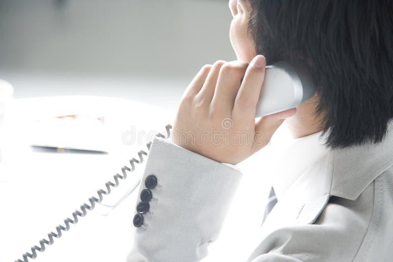 Japanischer Büroangestellter lizenzfreies stockbild