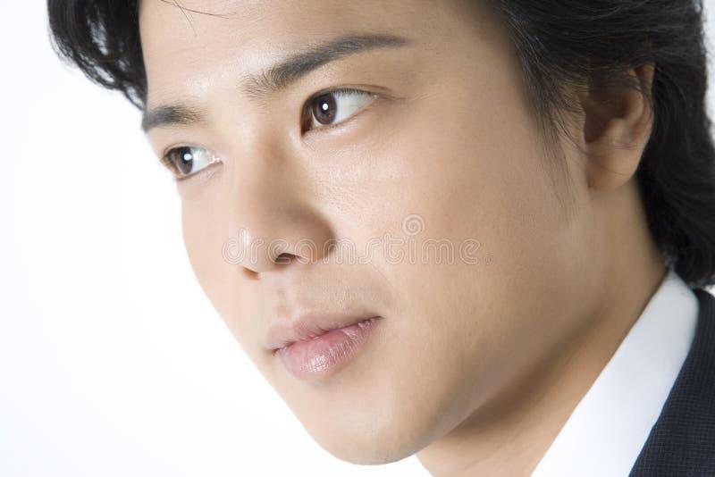 Japanischer Büroangestellter lizenzfreie stockbilder