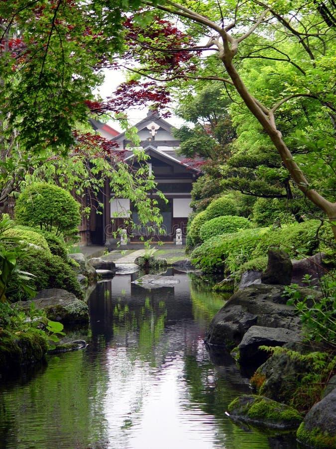 Japanischer Garten Stockfoto Bild Von Buddhismus Frieden 6734
