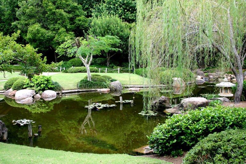 Japanischer Garten stockfotos