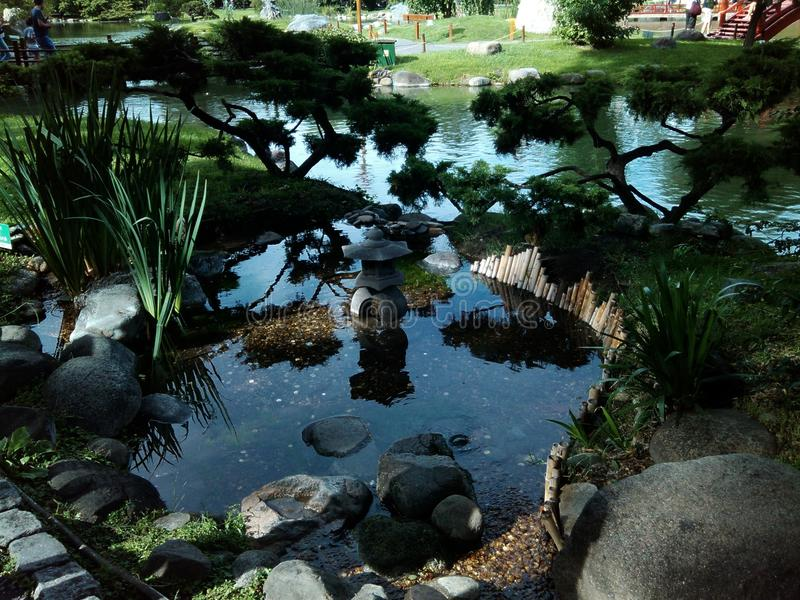 Japanischer Garten. Buenos Aires lizenzfreie stockfotografie