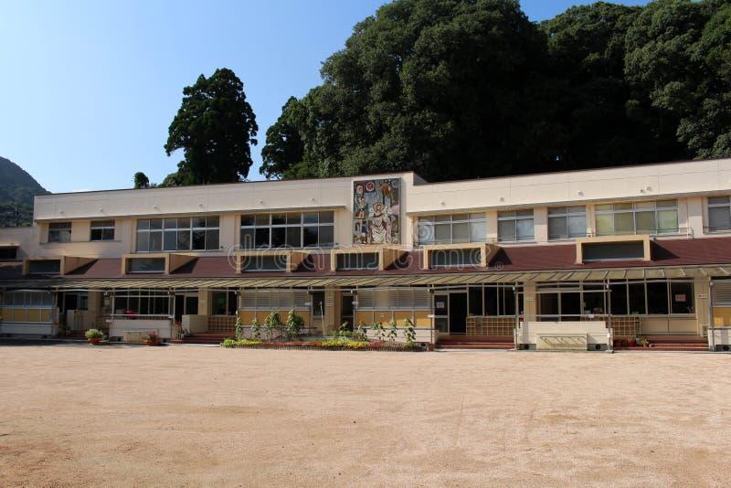 Japanischer katholischer schoolor Kindergarten stockfoto