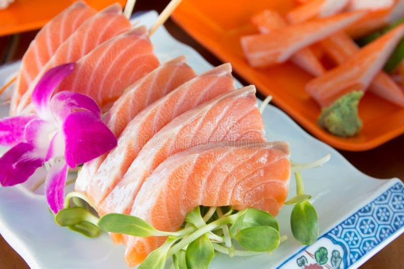 Japanischer Nahrungsmittelsashimi lizenzfreie stockbilder