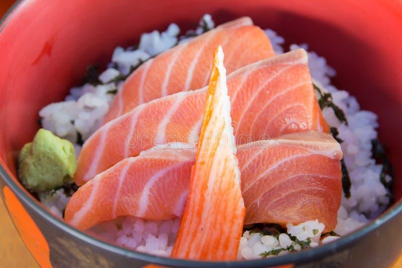 Japanischer Nahrungsmittelsashimi lizenzfreie stockfotos