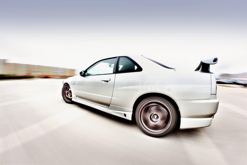 Japanischer Rennwagen lizenzfreie stockbilder