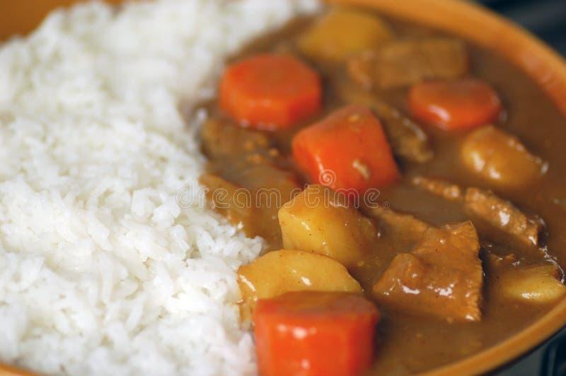 Japanischer Rindfleischcurry. stockfoto