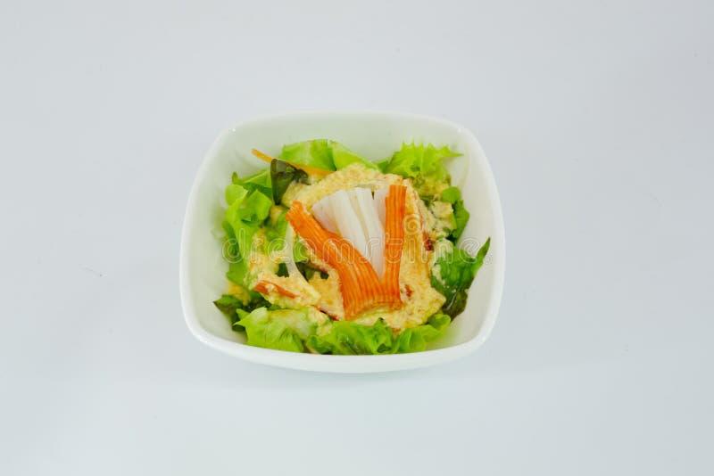 japanischer salat kopfsalat und fleisch mit japanischem salat sauce stockfoto bild von. Black Bedroom Furniture Sets. Home Design Ideas