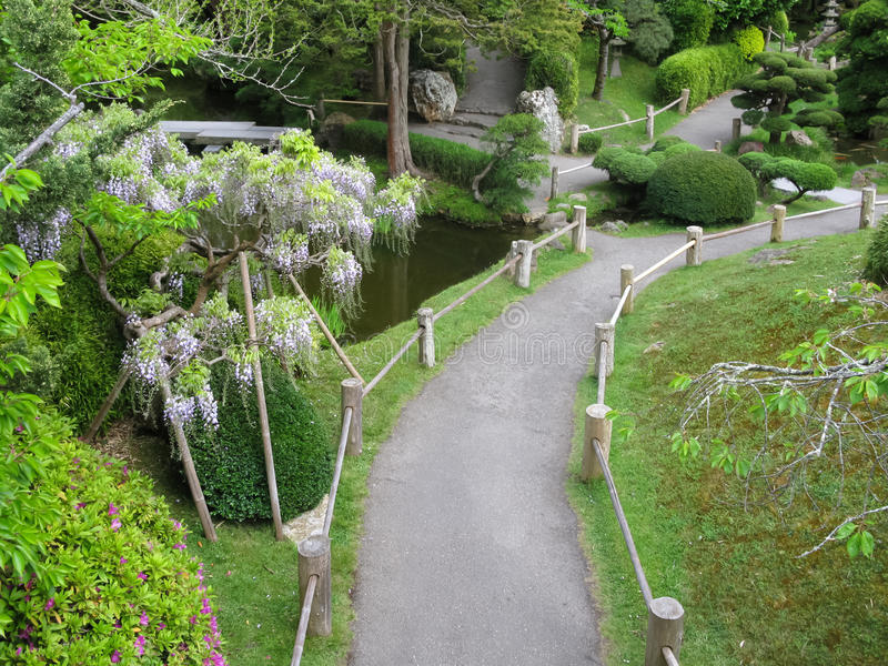 Japanischer Tee-Garten in San Francisco stockbilder