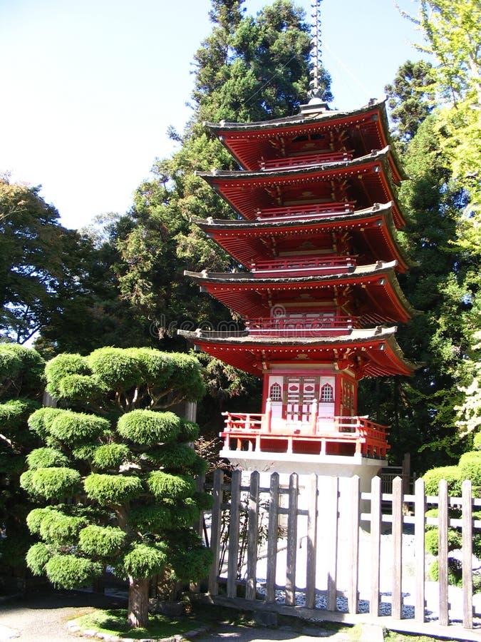 Japanischer Tempel stockfotos