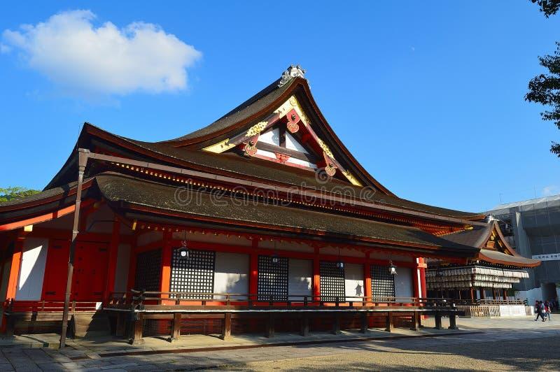 Japanischer Tempel lizenzfreie stockfotos
