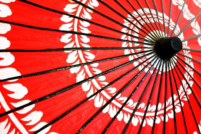 Japanischer traditioneller Regenschirm stockfotografie