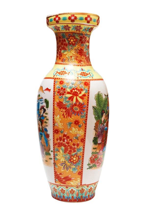 Japanischer Vase stockbild