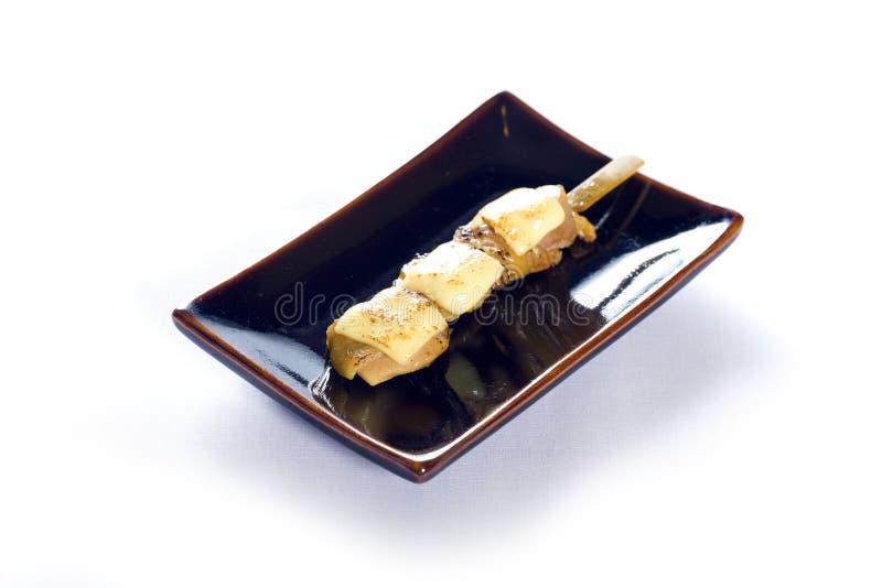 Japanisches aufgespigessenes Huhn lizenzfreie stockfotografie