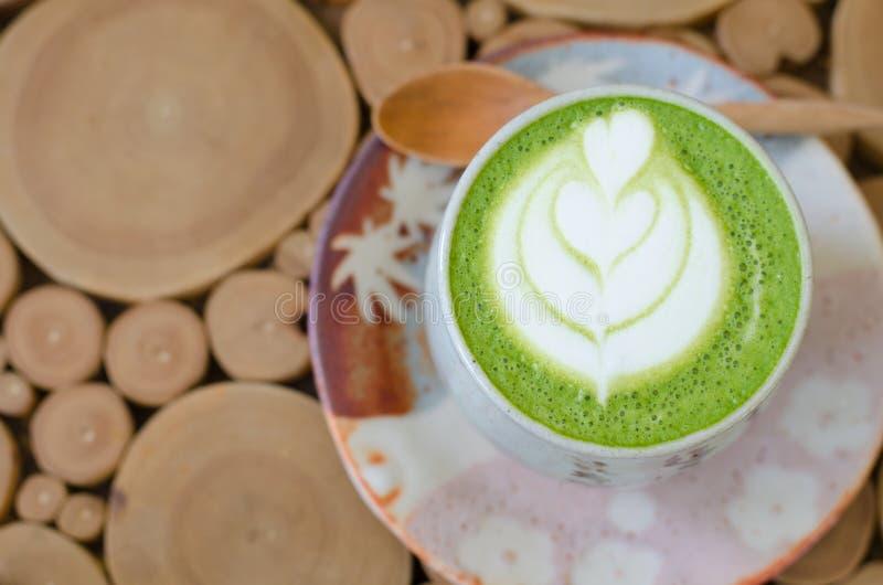 Japanisches grüner Tee matcha lizenzfreies stockbild