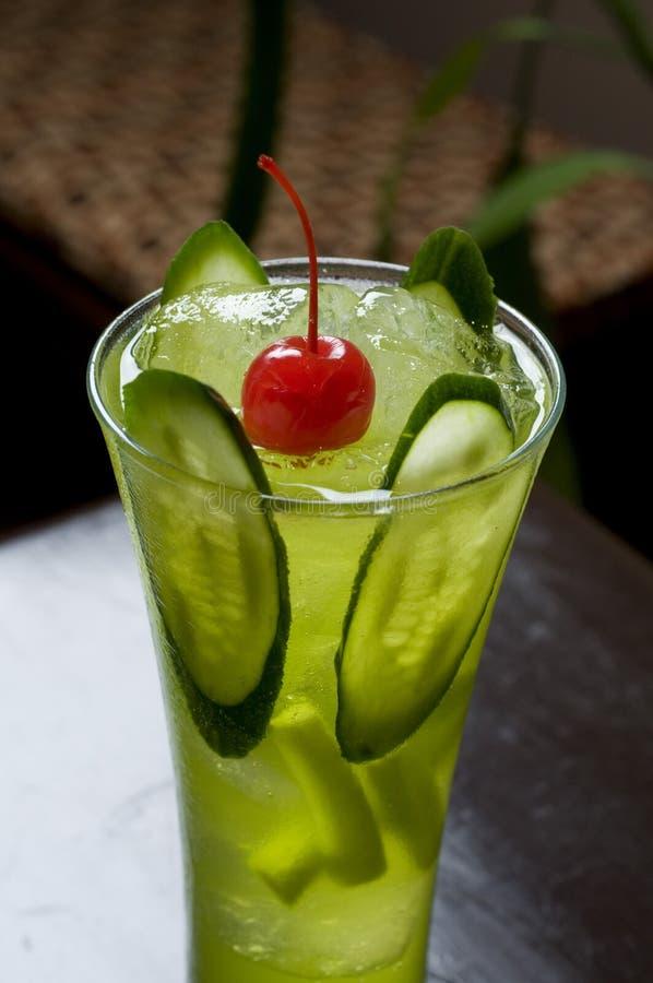 Japanisches grünes Cocktail lizenzfreie stockfotografie