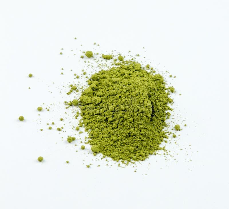 Japanisches grünes matcha stockfotografie