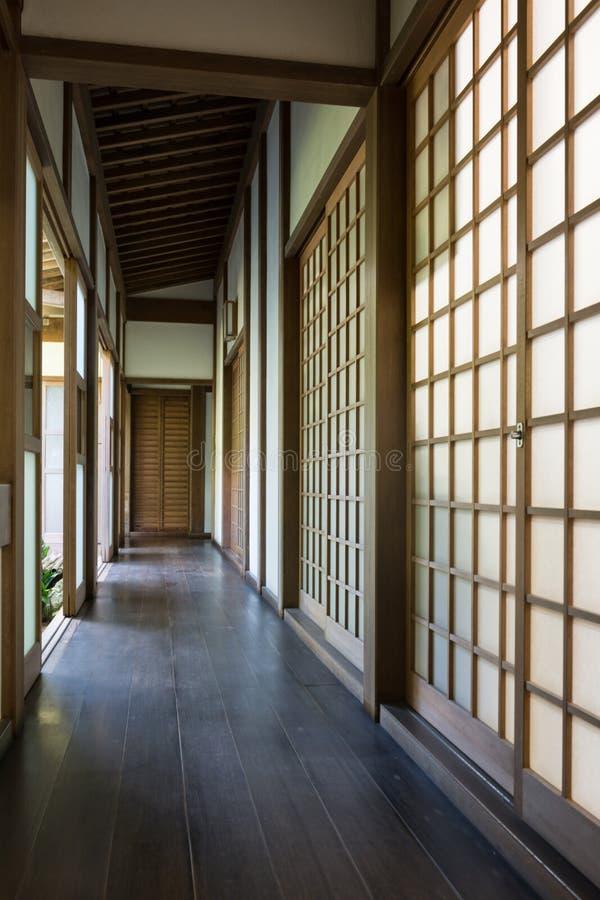 Download Japanisches Historisches Traditionelles Haus Stockbild - Bild von gebäude, cosy: 106802371