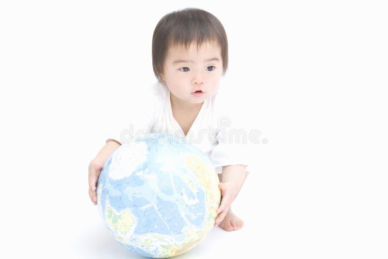 Japanisches Kind lizenzfreie stockfotos