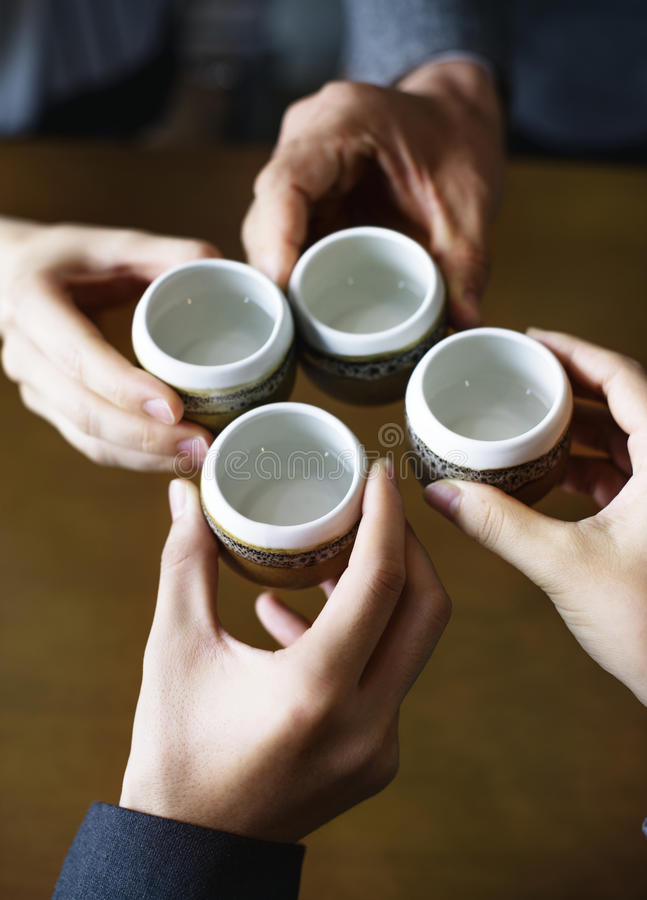 Japanisches Kulturkonzept der Teezeremonie stockfoto